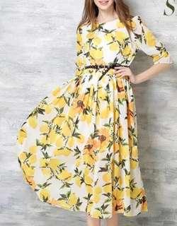 Floral Shiffon Dress