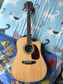 Sigma DMC-4E acoustic guitar