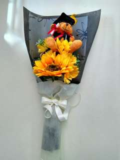 Grsduation bouquet(artificial flower)