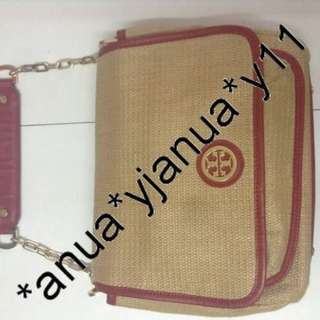 (二手品) 真品 Tory Burch 2ways tote bag