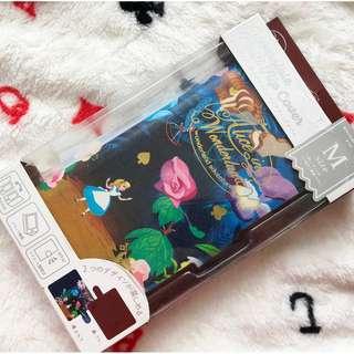 香港迪士尼 - Disney Alice in wonderland 愛麗絲 有蓋電話套(所有型號適用)