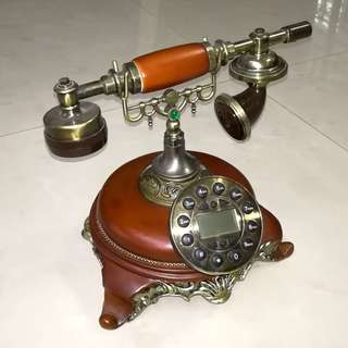 Telephone for Decoration (not in function)