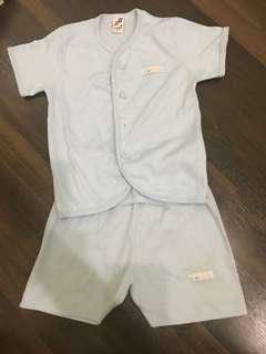 Preloved baju rumah Libby size L ( 12-18 month )