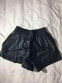 ‼️REPRICED ‼️Leather shorts