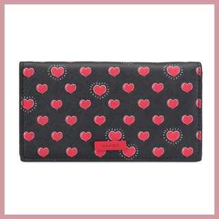 Mango Printed Wallet Hearts