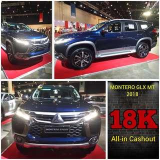 Mitsubishi Montero GLX MT 2018