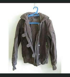 Charcoal Gray Calvin Klein Jeans CK Parka/ Jacket