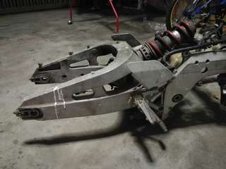 Swing arm cbr400 skali body