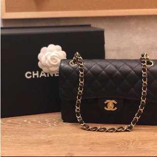 Caviar Chanel Classic Medium Double Flap Bag
