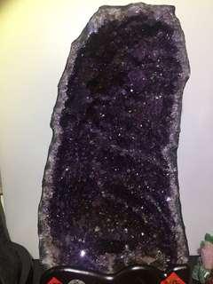 🚚 巴西紫晶洞 鈦晶洞 木型