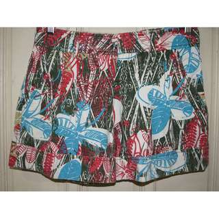 Abstract Patterned Shorts