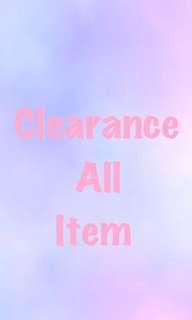 Clearance Album