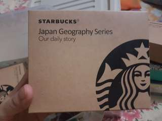 2018 Starbucks Japan Geography Collection Series Mug