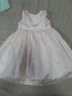Pretty pink girl's dress
