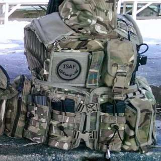 英軍British Army MK4 Osprey 1 set 連pouch vest