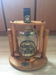 Display Chivas Rigal 378 litres bottle Urgent clearance