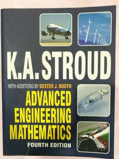 K A Stroud - Advanced Engineering Mathematics 4th Ed