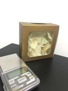 Bird nest golden box