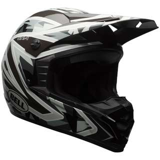 Bell SX-1 SX1 SX 1 SIZE X-LARGE XL ONLY Whip Off Road Motorcycle Motorbike Motocross Adventure Dirt Bike Adult Helmet Camo Black Grey