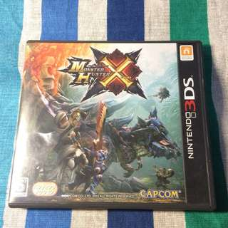 Monster Hunter X (Cross) Japan Version Capcom 2015
