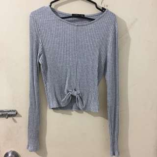 Cotton On Knot Crop Top