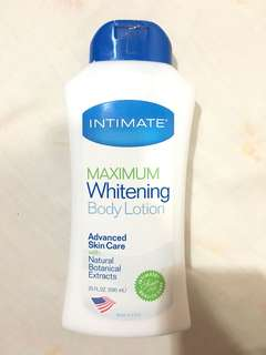 Intimate Lotion Whitening