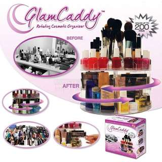 Glam Caddy Cosmetics Rotating Organizer