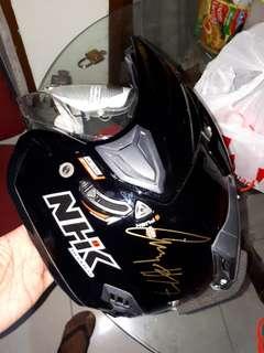 Helm NHK 2 visor ttd Karel Abraham motor GP