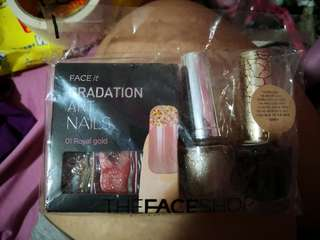 BN The Face Shop Nail Polish