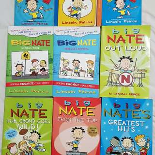 BiG NATE comics series