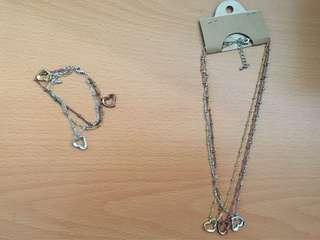 手鏈及頸鏈套裝