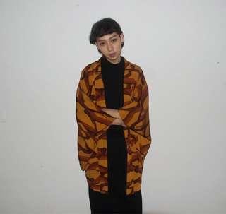 🚚 日本きらく屋購回羽織外套 日本製造
