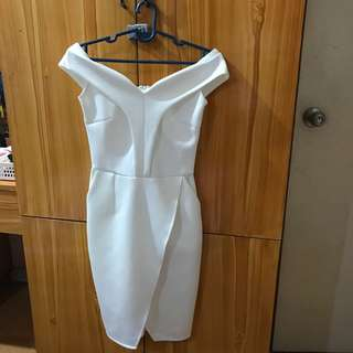 Apartment Eight White Dress