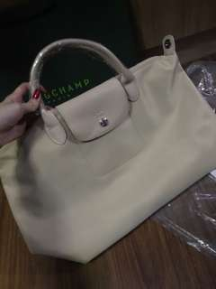 Authentic Longchamp NEO Short Handle Strap