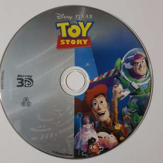 Toy Story (3D bluray disc)