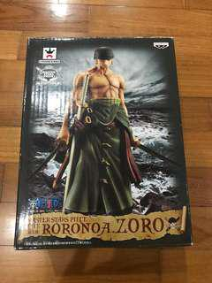One Piece Banpresto Master Stars Piece MSP Roronoa Zoro First Release Ver. With 3 Swords and Bandana Head Sculpt