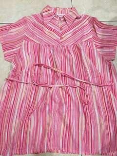 Baju Hamil Serena Pink