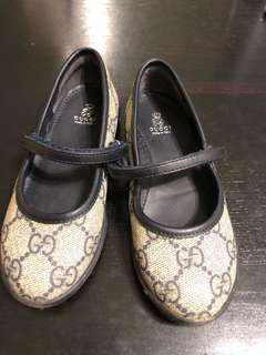 Gucci girls shoes flats 100%real