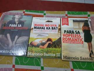 Marcelo Santos Books (100 each)