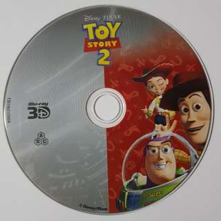 Toy Story 2 (3D bluray disc)