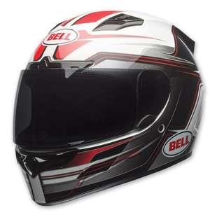 Bell Vortex SIZE LARGE ONLY Adult Full Face Street Motorbike Motorcycle Helmet Marker Red Black