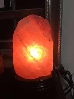 🚚 喜馬拉雅鹽燈 小夜燈 天然造型鹽燈