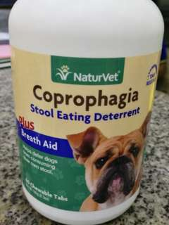 NaturVet Coprophagia stool eating deterrent