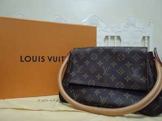 Authentic Louis Vuitton Mini Looping Bag