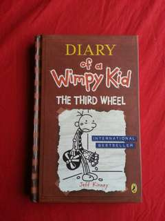 DIARY of a Wimpy Kid : The Third Wheel (hard cover)