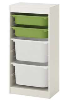 Trofast toy storage shelf (w/o storage box)