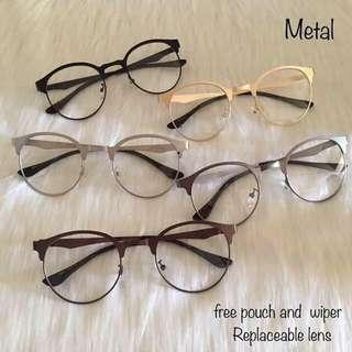 Metal Frame Lens