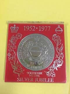 絕版香港1952·1977 紀念銀幣