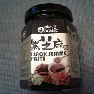 PLUS ORGANIC NATURAL BLACK SESAME PASTE  有機黑芝麻醬 180g 02-07-2019