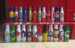 Coca Cola 2018 FIFA World Cup 24 miniature bottles set (from Mexico 🇲🇽)